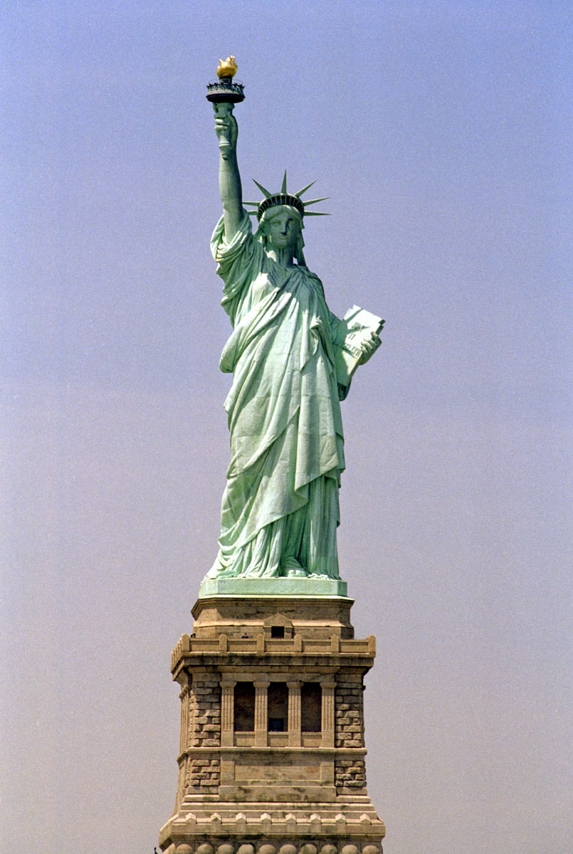 Coloring page Statue of Liberty New York – img 13078.